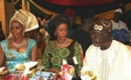 Bola Tinubu Caught Red Handed By His Wife (SEE PHOTO)
