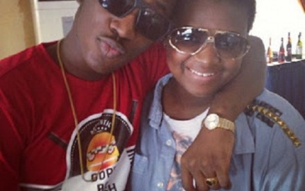 Photos: Dammy Krane, Phyno Spotted With Enugu State Governor's Daughter