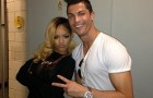 Cristiano Takes A Shine To Pop Star Rihanna