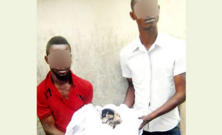 SHOCKING: Human Skull Serving As Soap Dish Found In House Of Suspect