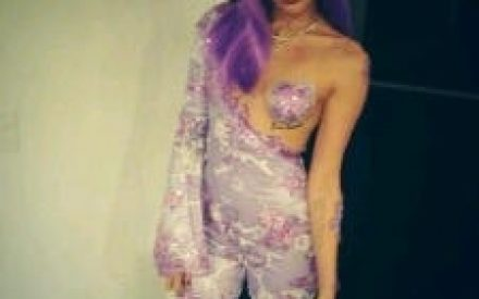 Miley Cyrus Dressed Like Lil' Kim For Halloween