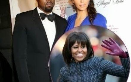 """Kim Kardashian Is More Influential Than Michelle Obama"" – Kanye West"