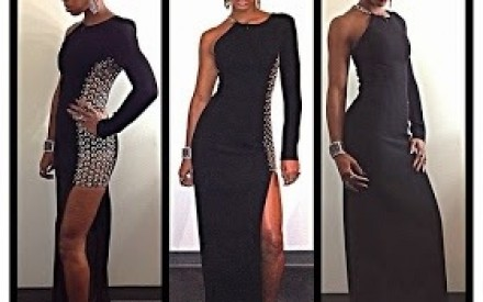 PHOTOS: Kelly Roland Rocks $5,000 Anthony Vaccarello Grommet Embroidered Dress