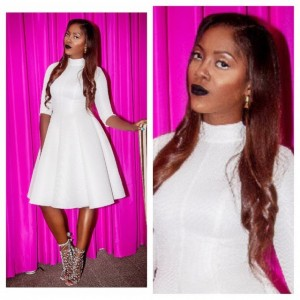 Check Out Tiwa Savage's Ravishing Looks At The 2014 NEAs In New York – Photos