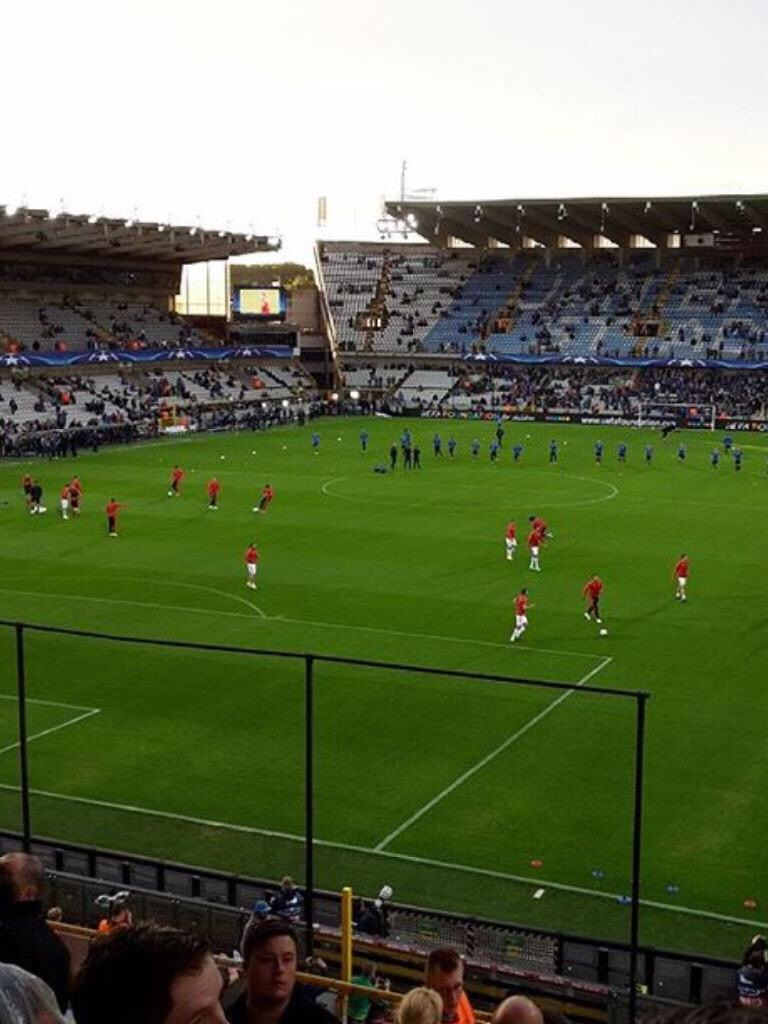 Live stream : Club Brugge VS Manchester United #mufc #uclstream