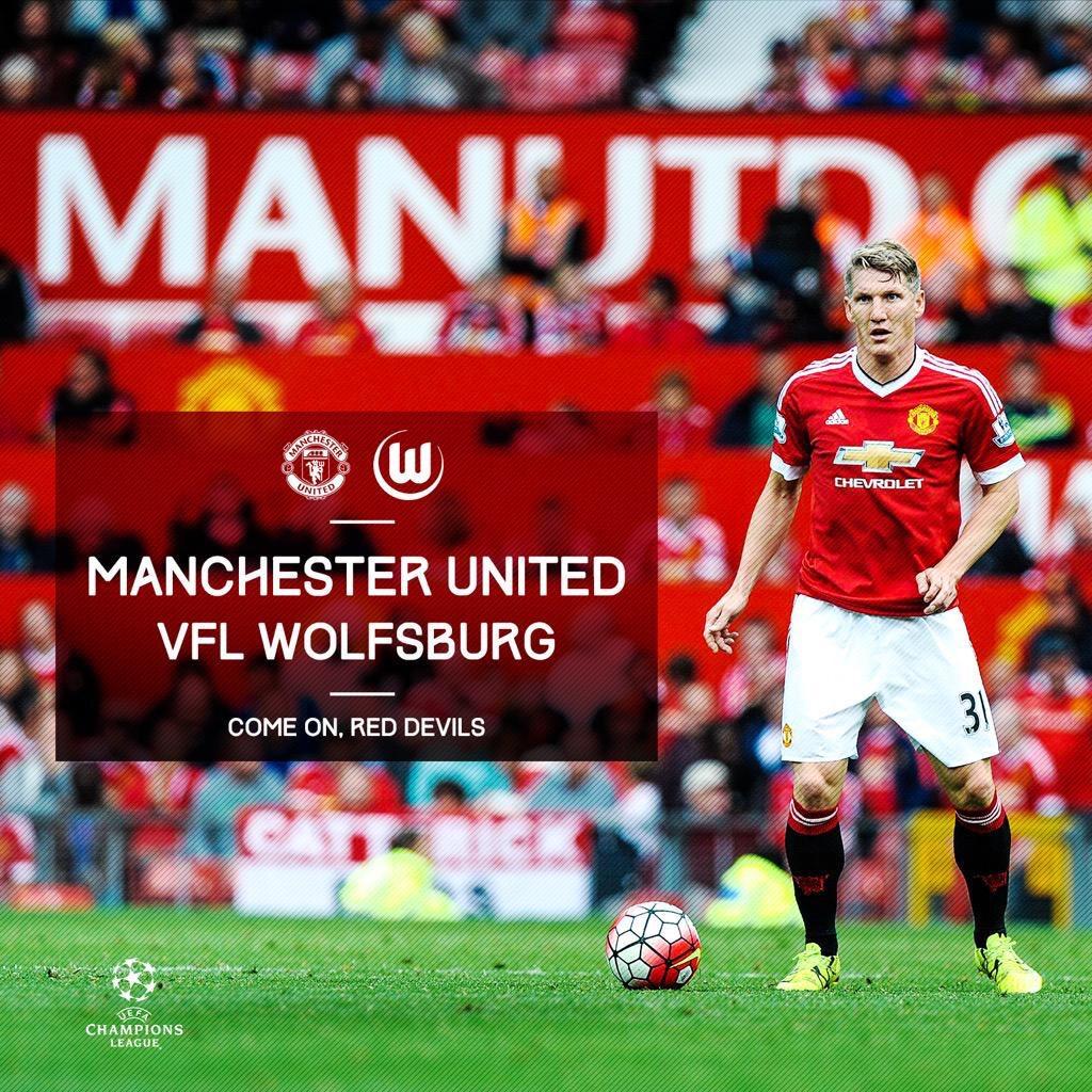 Live stream : Man Utd v Wolfsburg #Mufc