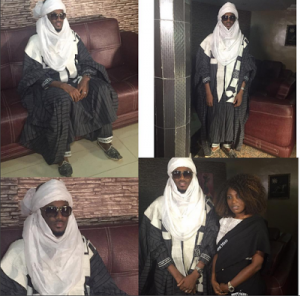 2face Idibia and the chieftaincy title he bagged in Kaduna | Photos