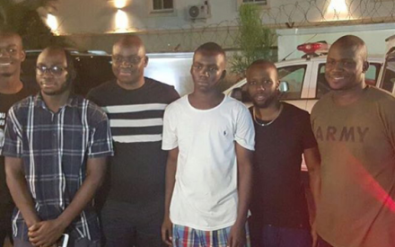 Checkout Photo Of Governor Fayose & His Handsome Sons