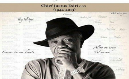 Dr Sid Remembers Late Father, Star Actor, Justice Esiri After 3 Years