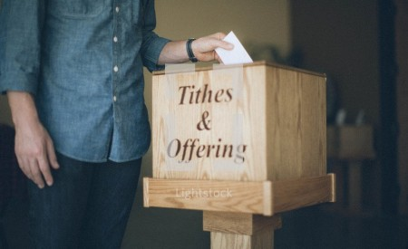 Man Arrested For Stealing From Church Offering Box