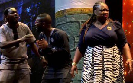 Comedy video Skit : AY ft. Falz, Chigurl, Princess – Stage Play [Naso We See Am] At AY LIVE 2016
