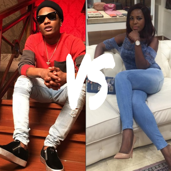 wizkid and linda -gidibase