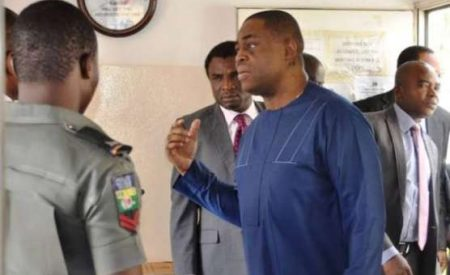 Fani-kayode Turns Pastor in Efcc Cell,leads Inmates in Intense Prayers and Worship