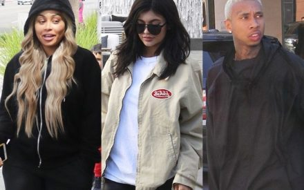 Blac Chyna Shows Support For Kylie Jenner After Tyga Breakup