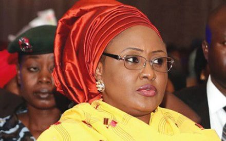 Mrs. Aisha Buhari Labelled Fayose A  'Mad Dog'