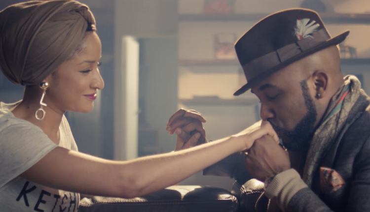 Banky W and Adesua Etomi in Made For You music video