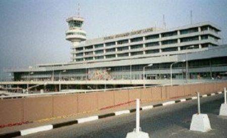 Pandemonium at Lagos Airport, as Police Gun Explodes