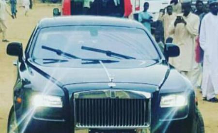 Emir of Kano Added $407k Rolls Royce Phantom To His Luxury Of Cars.