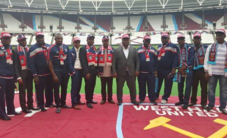 FC Ifeanyi Ubah Makes History Having a Partnership Deal With West Ham United FC