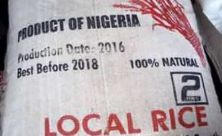 Rice Made In Nigeria Rice Floods Lagos Market Sold For N14,000.