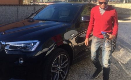 Footballer Onazi Ogenyi Cries Out as Scammers Use His Credit Card to Shop in China