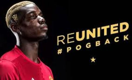 Paul Pogba Finally Signs For Man U For A World Record Fee