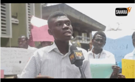Video : Rusticated UNILAG Student Puts School Management on Blast (So Hilarious )