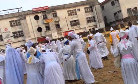 Cherubim & Seraphim Prophetess Arrested for Using Her Room as a Whorehouse in Ogun