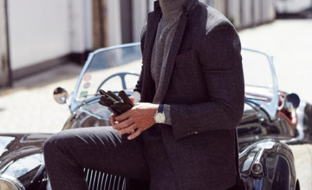 Fashion Trend: Turtleneck Sweater and Suit