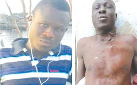 Man Stabbed To Death By Three Friends Over A Girlfriend In Delta (Graphic Photo)