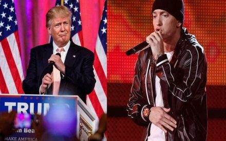 Eminem Goes For Donald Trump In Epic New Track, 'Campaign Speech'