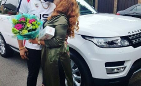 E-money Surprises Wife With  2016 Customized Range Rover (Photos)