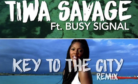 VIDEO : Tiwa Savage – Key To The City ft. Busy Signal