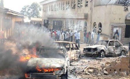 Anambra- 17 vehicles Set Ablaze by Scavengers