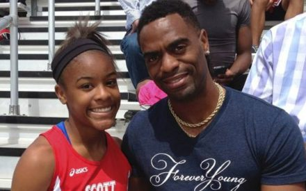 Tyson Gay Daughter Killed In Shootout At A Restaurant