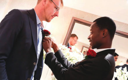 Popular Nigerian Gay Bisi Alimi Weds Lover