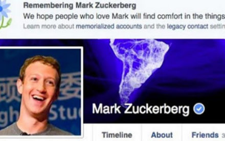 Mark Zuckerberg, Two Million Others Dead According To Facebook