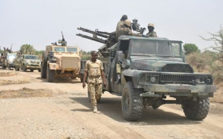 240 Boko Haram Insurgents Surrender to MNJTF