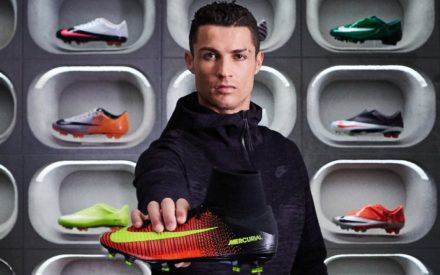 Ronaldo Signs Lifetime Contract With Nike