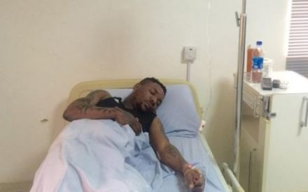 Oritsefemi Shares Photo From Hospital Bed as He Begs Fans Over Quilox Brawl