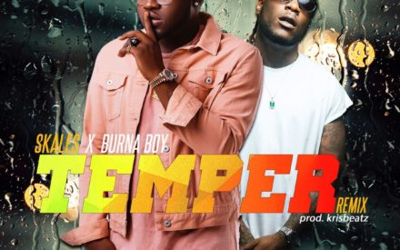 New Music : Skales ft. Burna Boy – Temper (Remix)