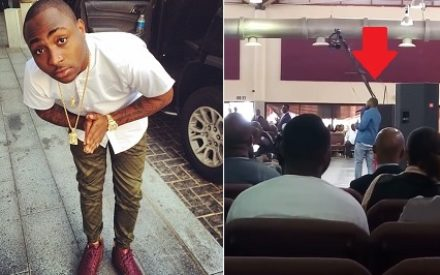 """I Vow To Serve God For The Rest Of My Life,"" — Davido Gives Interesting Testimony In Church 