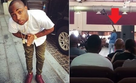 """""""I Vow To Serve God For The Rest Of My Life,"""" — Davido Gives Interesting Testimony In Church 