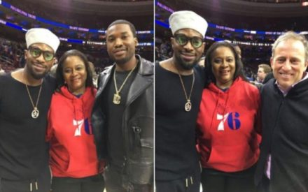 D'banj Spotted With Meek Mill & Billionaire Joshua Harris | Photos