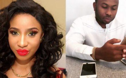 Tonto Dikeh's Husband Shades Her on Instagram, the Actress Replies