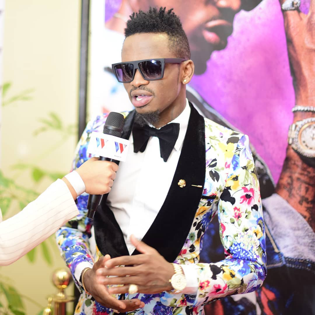 platinumz tanzanian and singer zari diamond hooks musician news up showbiz with